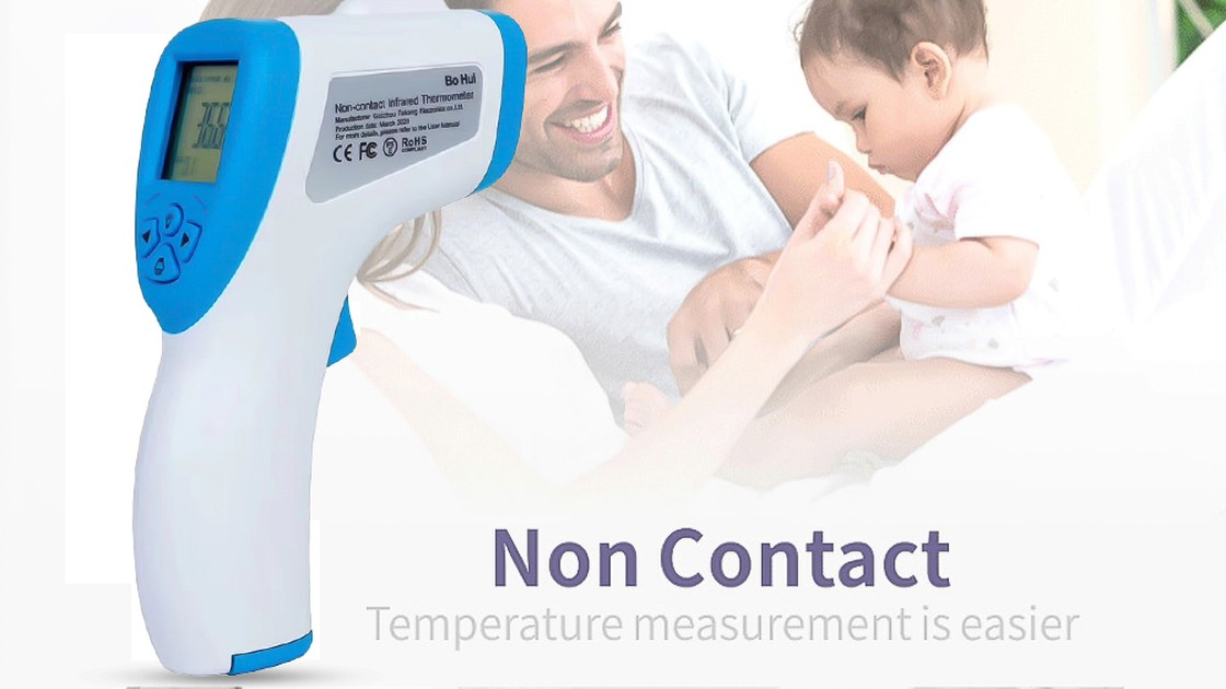 Stay SAFE! Measure Body Temperature in Just One Second!